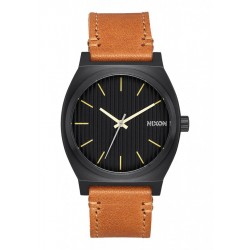 Nixon Time Teller Black / Stamped / Brown A0452664