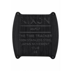 Nixon Time Tracker Black / White A1245005