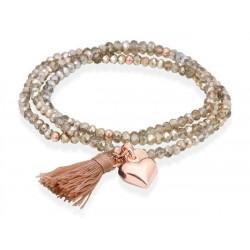 Pulsera ZEN Dorado en plata rosa 90104UZ