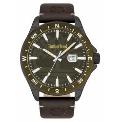 Timberland Swampscott 46mm khaki 3h date brown leat 15941JYUK-53