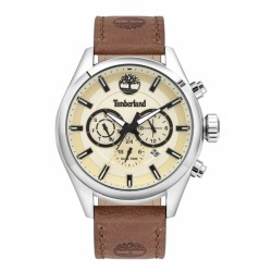 TIMBERLAND ASHMONT 46MM BEIGE DIAL BROWN LEATHER ST 16062JYS-14