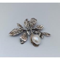 Broche Styliano Jewellery ALF FOLHA