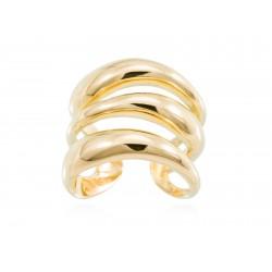 Anillo HUMO en plata dorada 90534SD