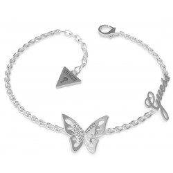 Pulsera GUESS CENTRAL BUTTERFLY CHARM UBB70115-S