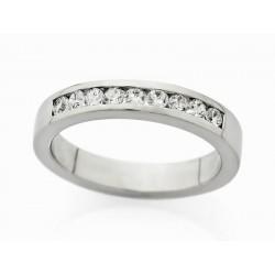 Anillo en Oro 18Kt. y diamantes A2043
