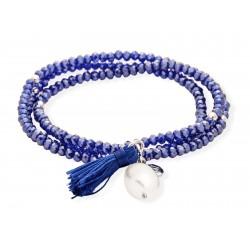 Pulsera ZEN Azul en plata 90049UP