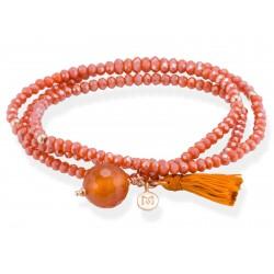 Pulsera ZEN Coral en plata rosa 90103UC