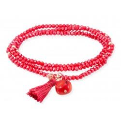 Pulsera ZEN Coral en plata rosa 90493UC