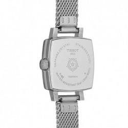 Reloj cuadrado mujer Tissot Lovely Square acero inoxidable