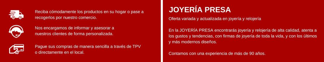 Contacto Joyería Presa